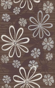 inserto Euforia flower 1 brown 25 x 40 WD137-016