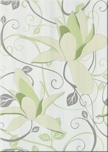 inserto Artiga flower light green 25 x 35 OD032-019